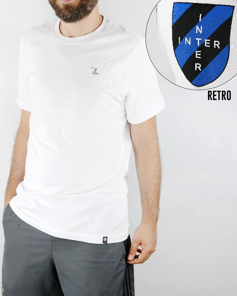 Inter fc Nike kit Story Tell maglia maglietta T-shirt 2019 20 Uomo Bianco 0