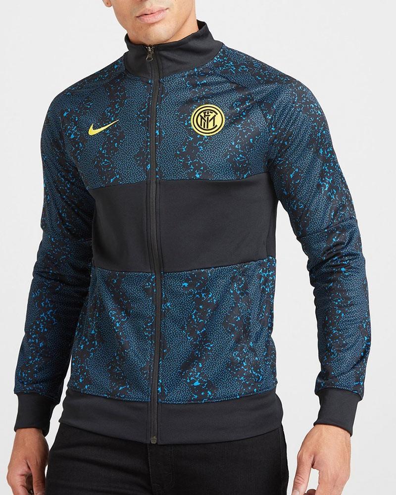 Inter fc Nike Giacca tuta pre mach stadium 2020 21 L96 UOMO Blu 0