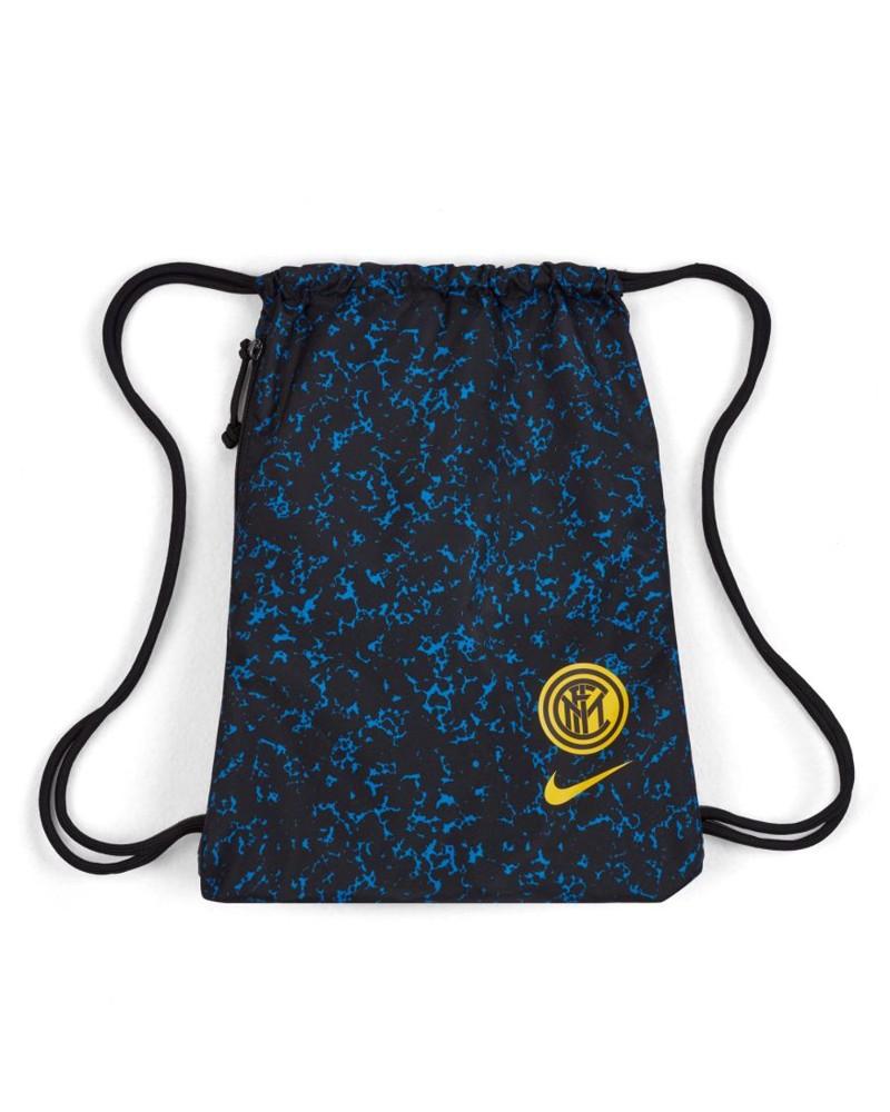 Inter fc Nike Sacca Rucksack Gymsack Borsa Unisex Nero azzurro 2020 21 Stadium 0