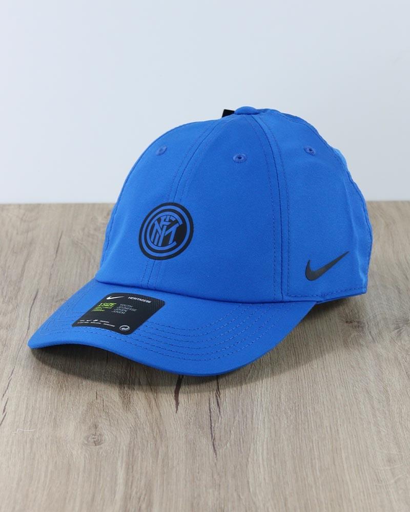 Inter fc Nike Cappello Berretto tg Unisex azzurro Heritage 86 2020 21 0