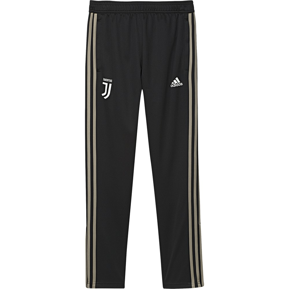 Juventus Adidas Pantaloni tuta Pants 2018 19 Training Nero Ragazzo aderente 0