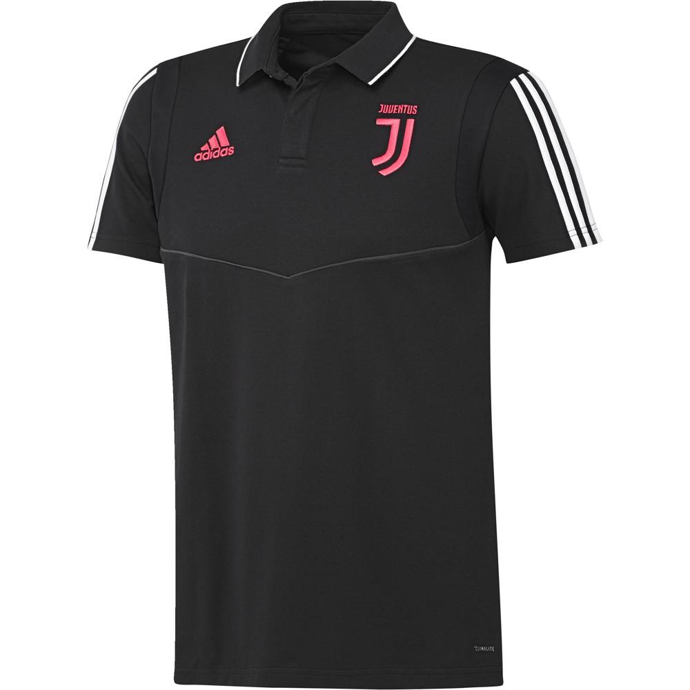 Juventus Adidas Polo Maglia Uomo Nero 2019 20 maniche corte Cotone 0