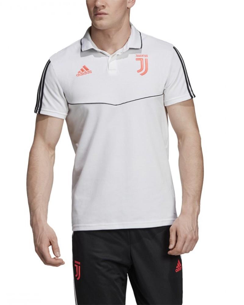 Juventus Adidas Polo Maglia Uomo Bianco 2019 20 Cotone 0
