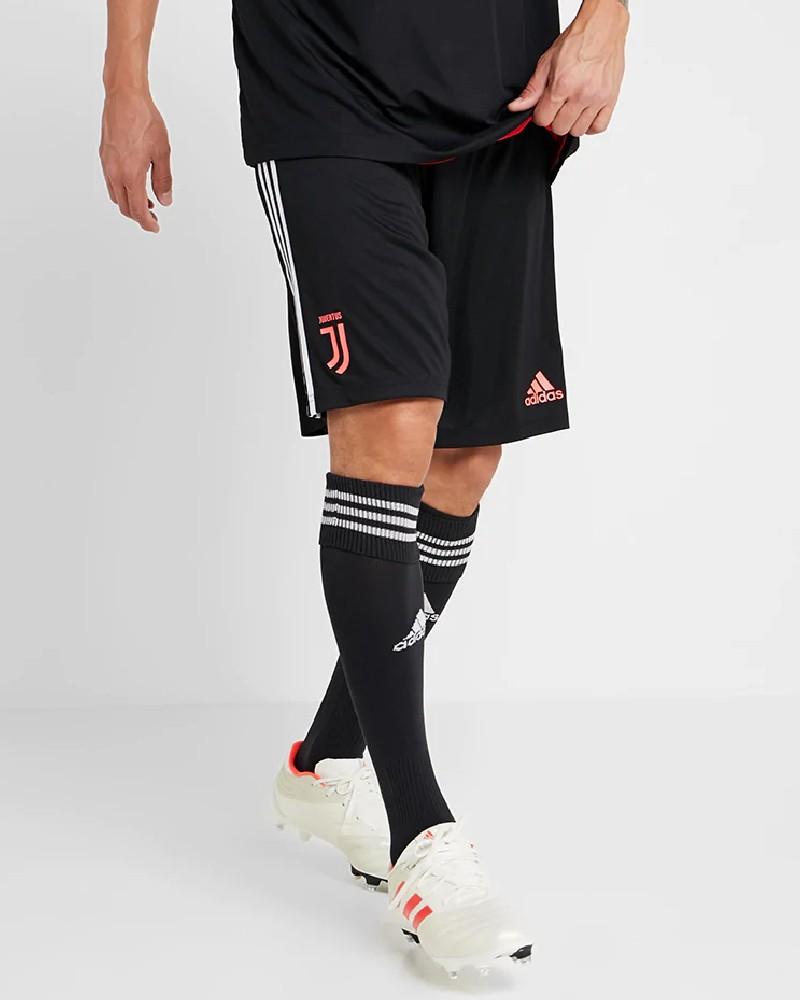 Juventus Adidas Pantaloncini Shorts Training Nero 2019 20 0