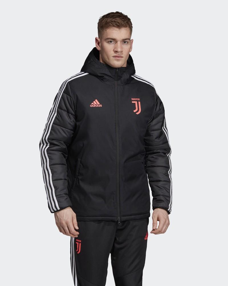 Juventus Adidas Bomber Piumino Giubbotto Winter jacket Uomo Nero 2019 20 0