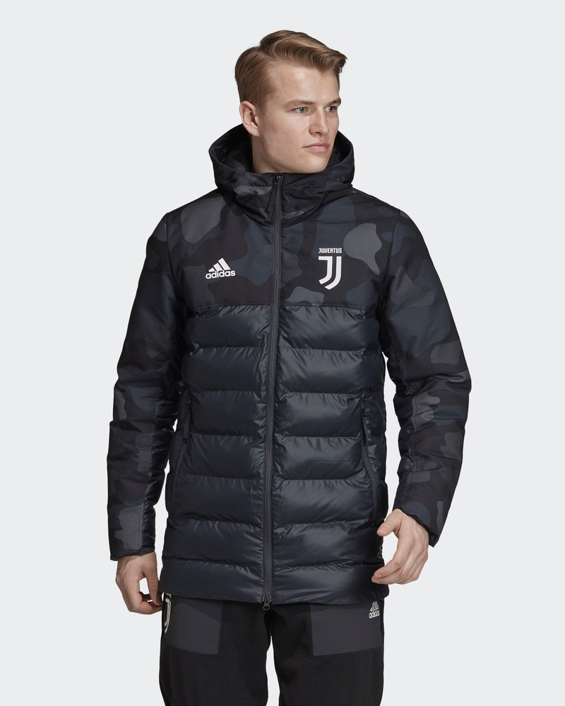 Juventus Adidas Bomber Piumino Giubbotto padded jacket 2019 20 Nero 0