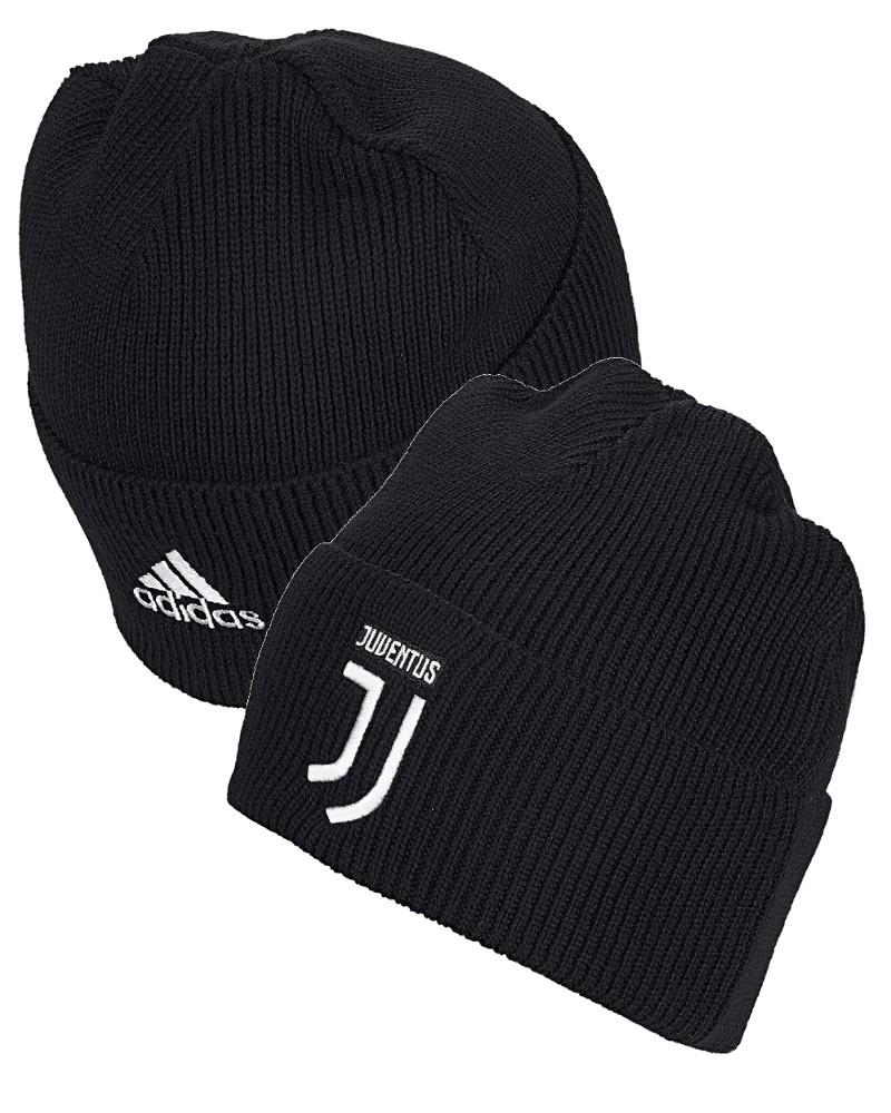 Juventus Adidas Cappello lana invernale tg WOOLIE Unisex Nero 2019 20 0