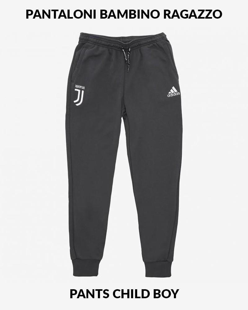 Juventus Adidas Pantaloni tuta Pants Sweat Cuff antracite Bambino Cotone 0