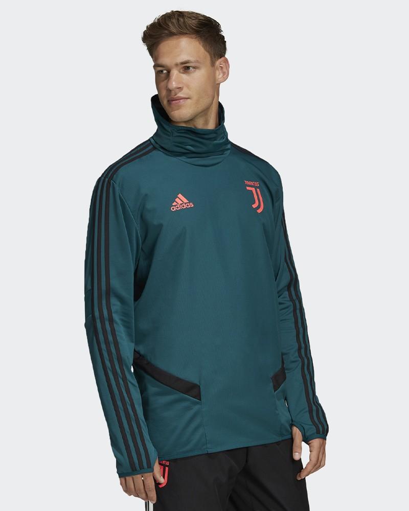 Juventus Adidas Felpa Allenamento Warm Top Verde Climawarm 2019 20 0