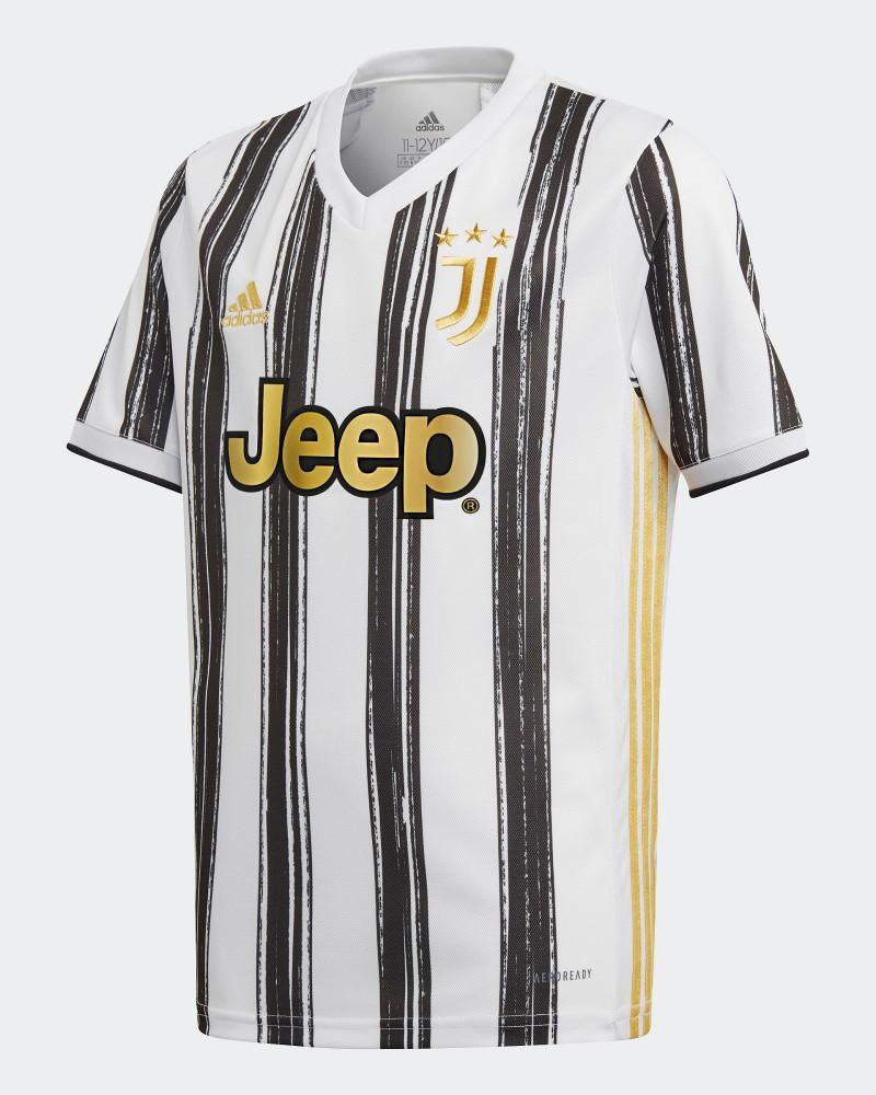 Juventus Adidas Maglia Calcio Ragazzo Bambino 2020 21 AEROREADY Home 0