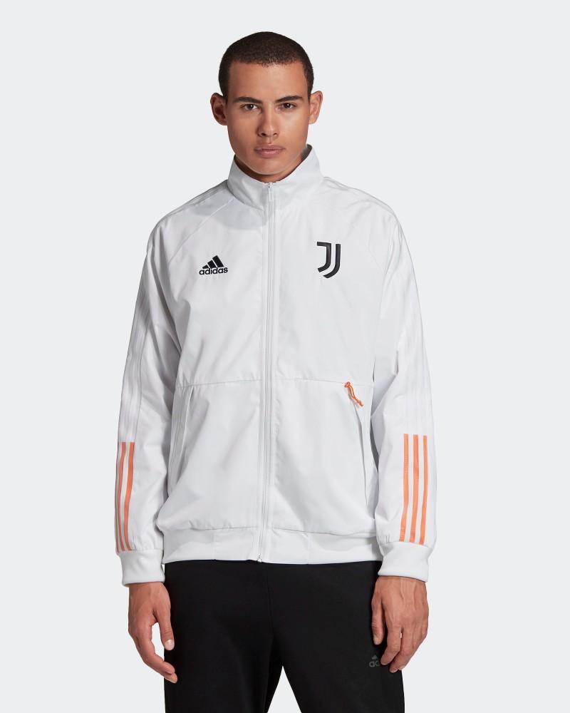 Juventus Adidas Giacca Tuta Pre match Jacket Anthem UOMO Bianco 2020 21 0
