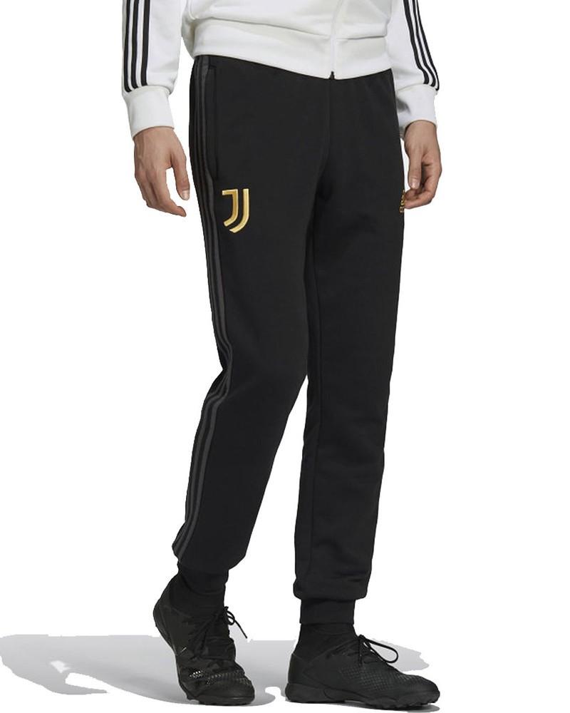 Juventus Adidas Pantaloni tuta Pants 2020 21 3 Stripes Sweat Nero UOMO Cotone 0