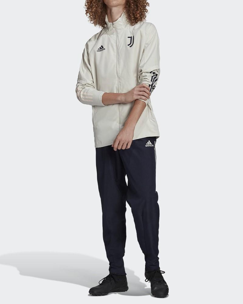 Juventus Adidas Tuta Rappresentanza UOMO Grigio Blu 2020/21 Presentation 0