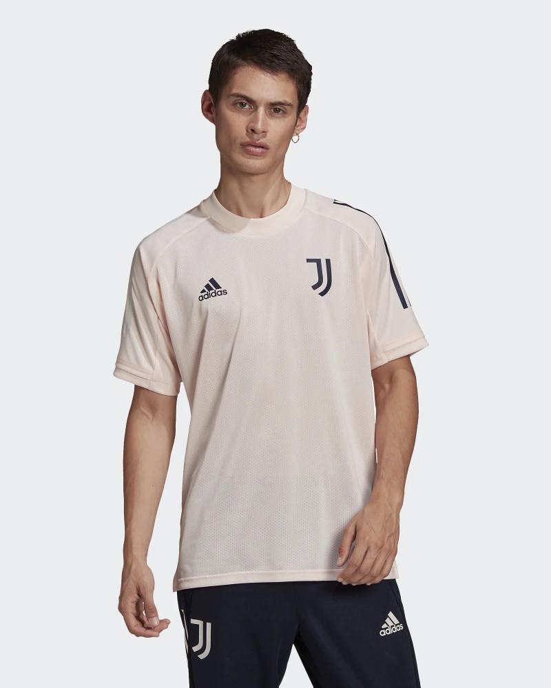 Juventus Adidas Maglia Allenamento Training UOMO Rosa 2020 21 AEROREADY 0