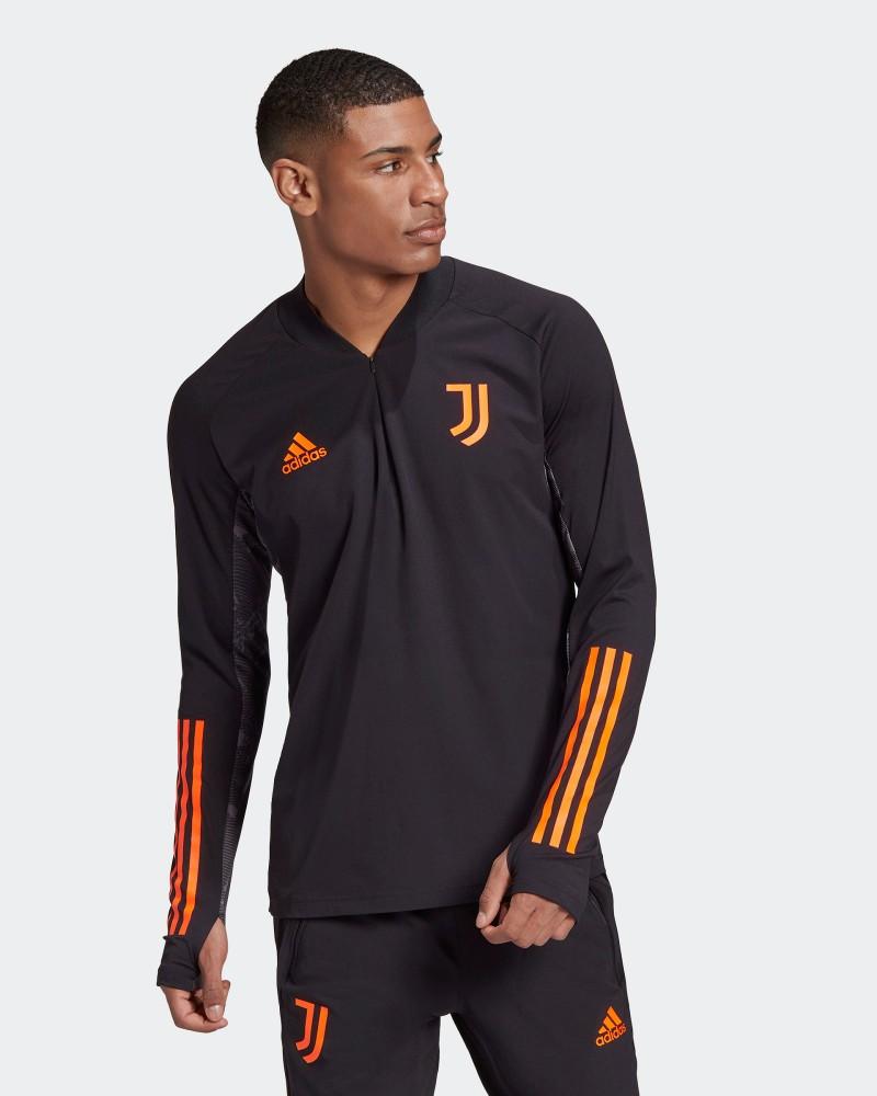 Juventus Adidas Felpa Allenamento UEFA CHAMPIONS LEAGUE Nero UOMO 2021 0