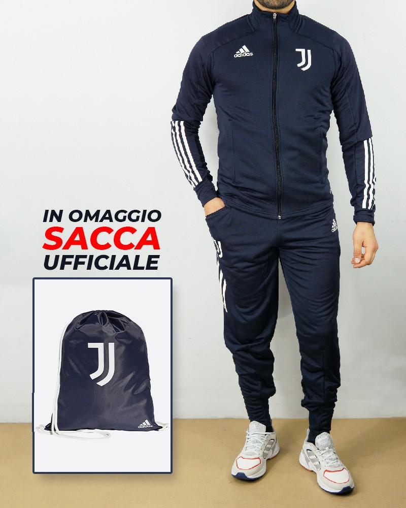 Juventus Adidas Tuta Allenamento 2020/21 UOMO + SACCA IN OMAGGIO 0