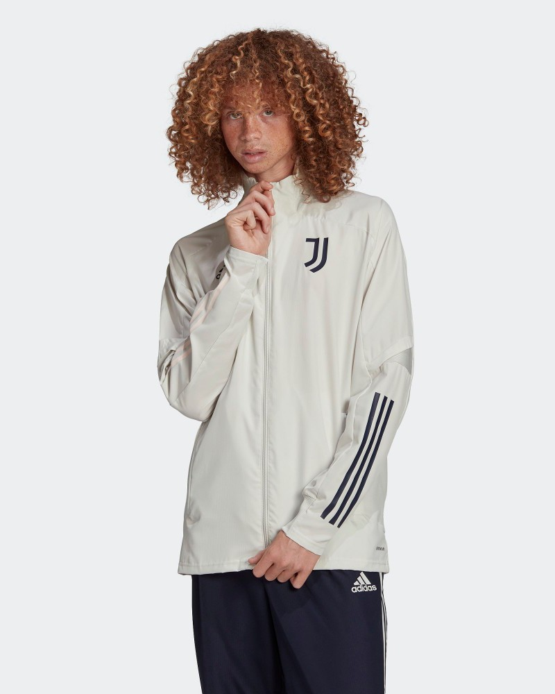 Juventus Adidas Giacca Tuta rappresentanza UOMO Grigio 2020 21 Presentation 0