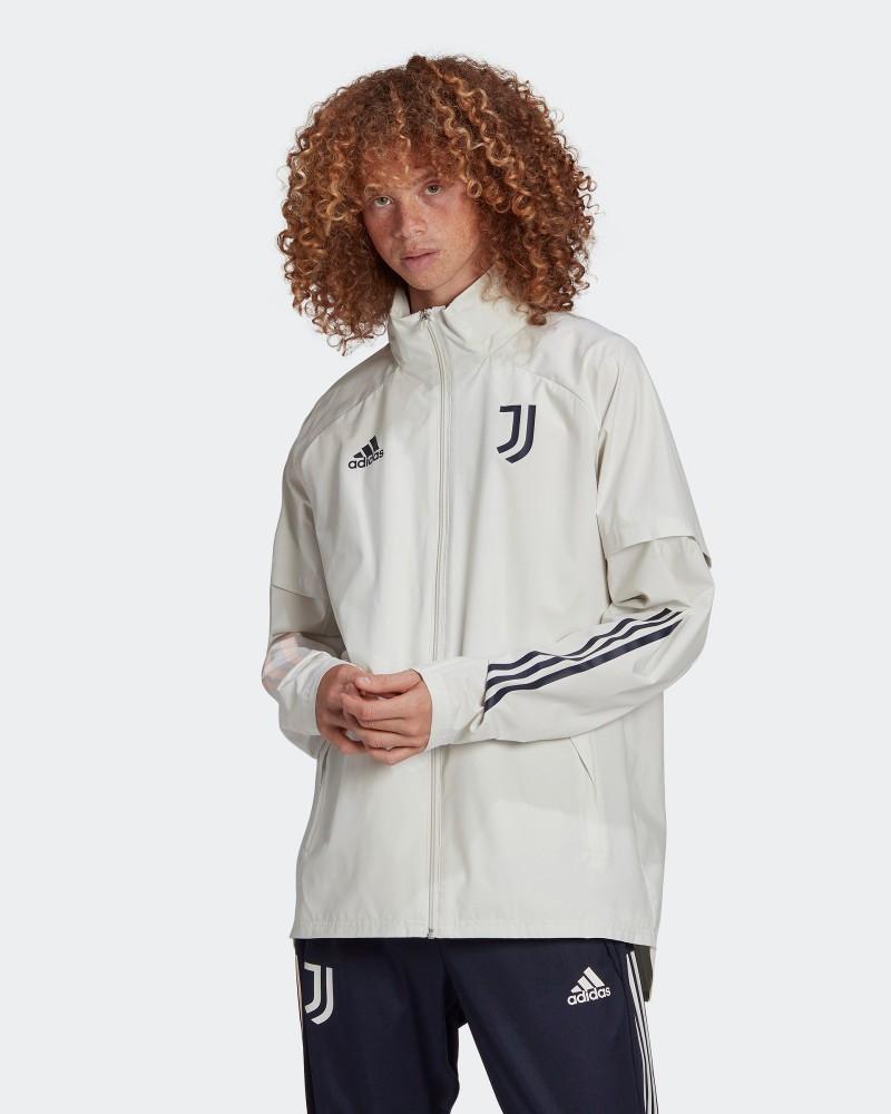 Juventus Adidas Giacca anti Vento Pioggia 2020 21 UOMO Grigio All Weather 0
