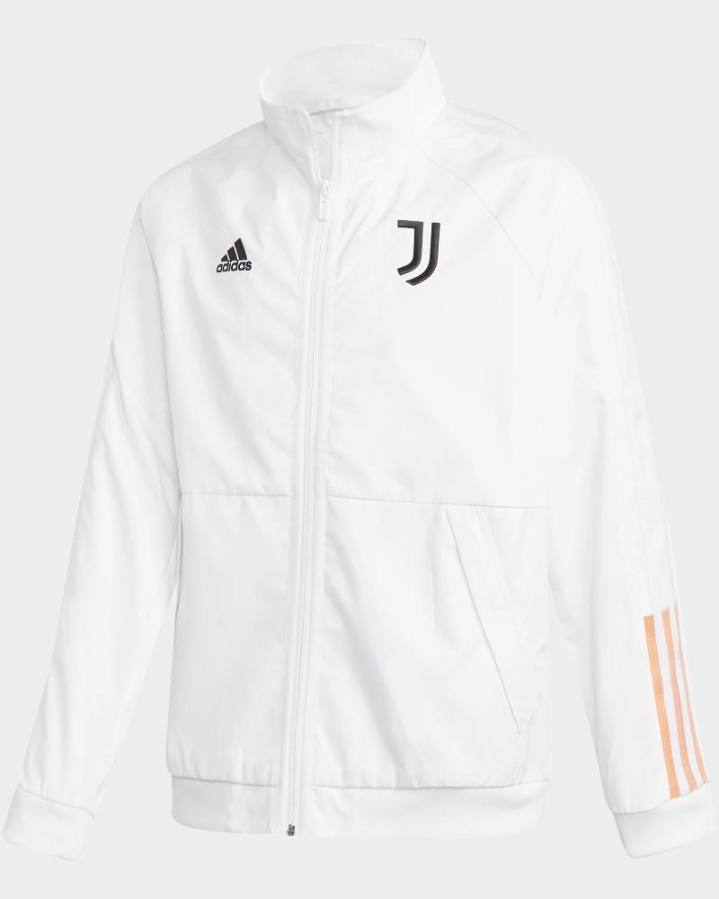 Juventus Adidas Giacca TUTA Jacket Anthem pre Match Ragazzo Bianco 2020 21 0
