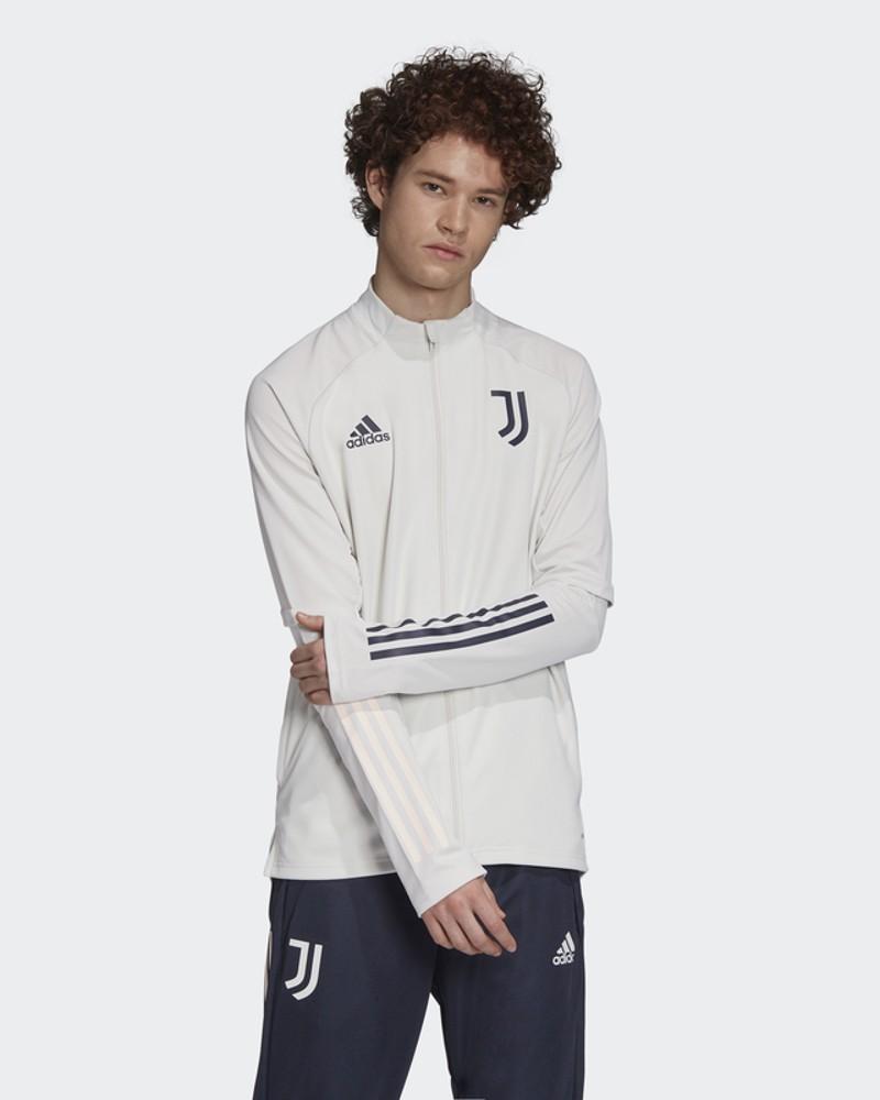Juventus Fc Adidas Giacca Allenamento Training Bianco 2020 21 con TASCHE a ZIP 0