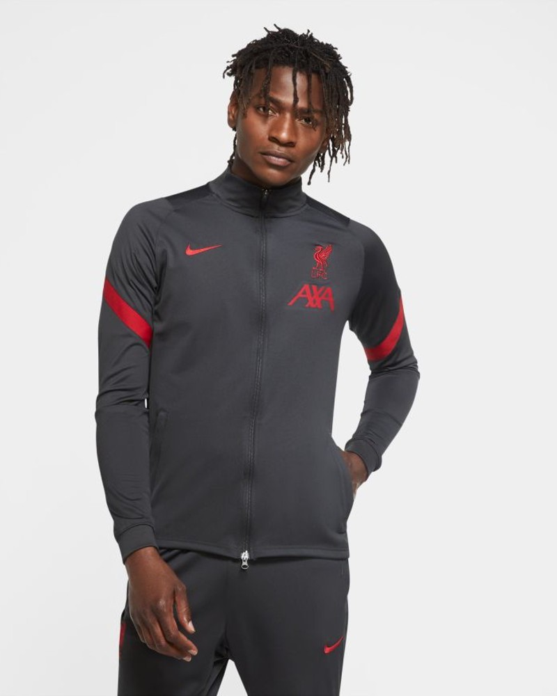 Liverpool Fc Nike Giacca Allenamento Training 2020 21 Dry Strike knit antracite 0