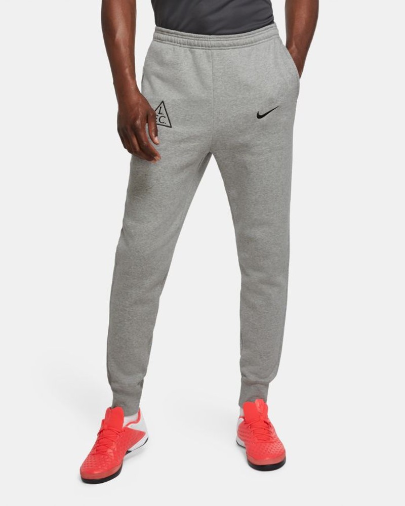 Liverpool Fc Nike Pantaloni tuta Pants 2020 21 Fleece Sweat Cuff Grigio UOMO 0