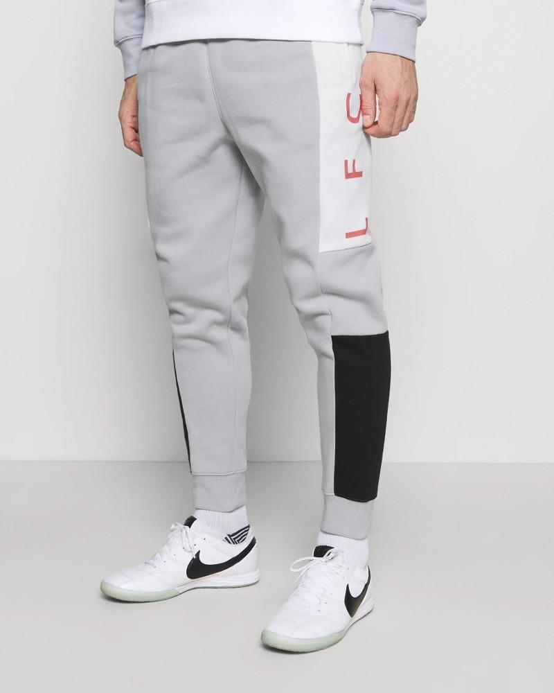 Liverpool Fc Nike Pantaloni tuta Pants Grigio UOMO Cotone Felpato 2021 0
