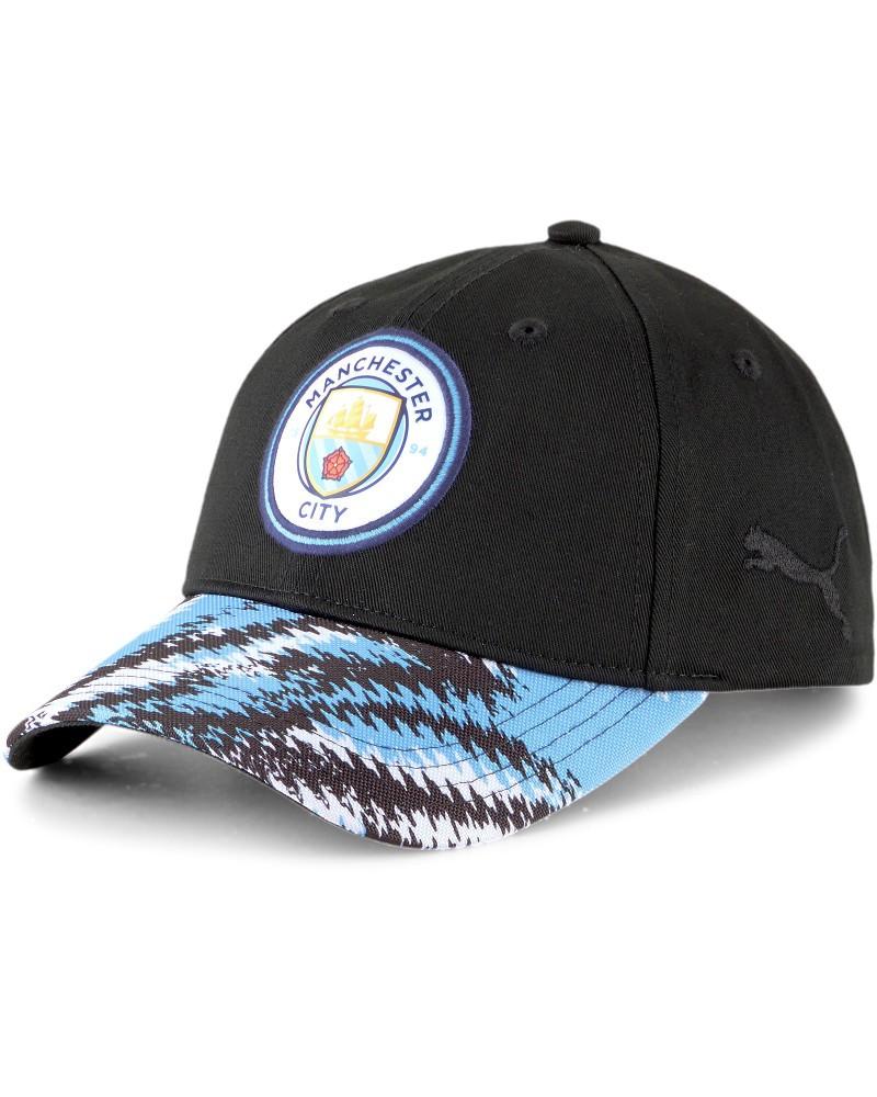 Manchester City Puma Cappello Berretto Unisex Blu 2021 Iconic Archive BB Cotone 0