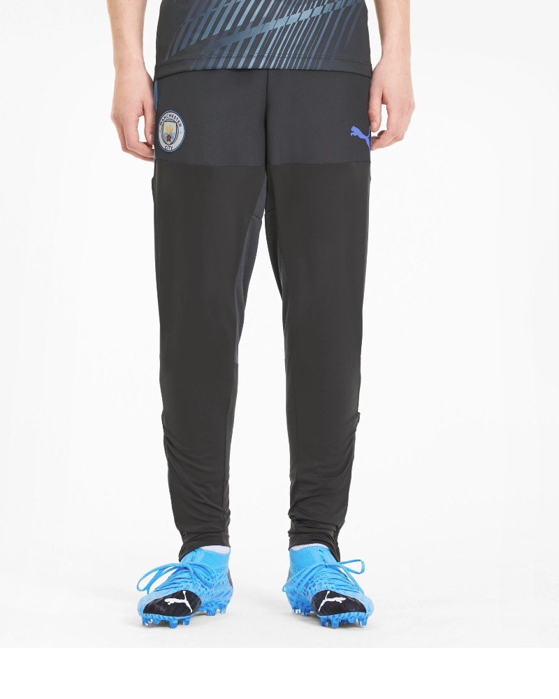 Manchester City Puma Pantaloni tuta Pants 2020 training PRO Stadium Blu UOMO