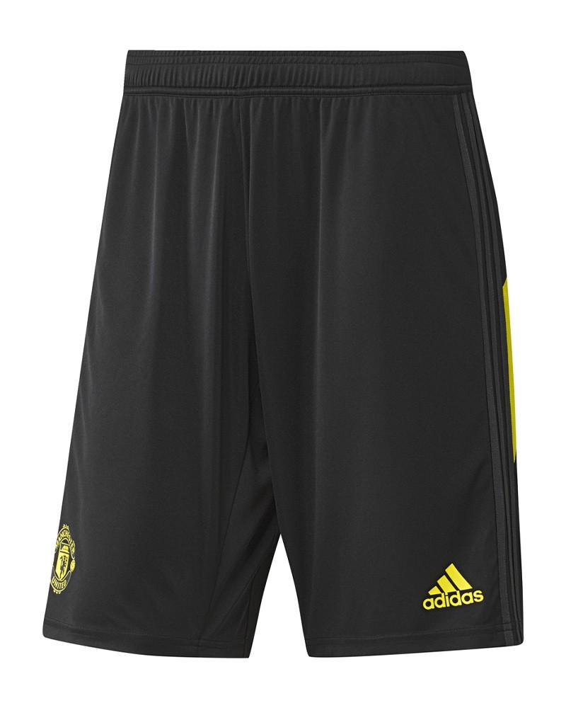 Manchester United Adidas Pantaloncini Shorts Training Uomo Nero 2019 20 0