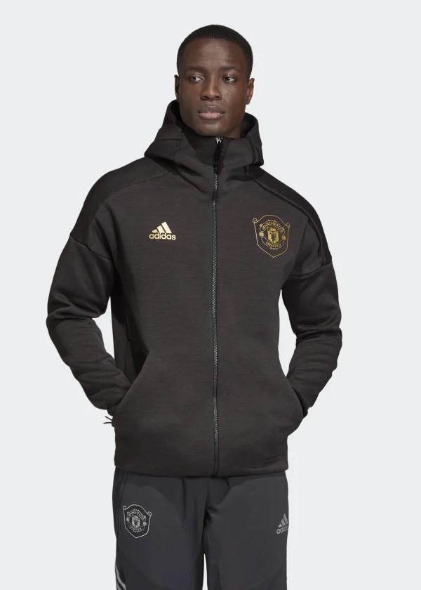 Manchester United Adidas Giacca Tuta Pre Gara Pre Match Z.N.E. Hoodie 3.0 0