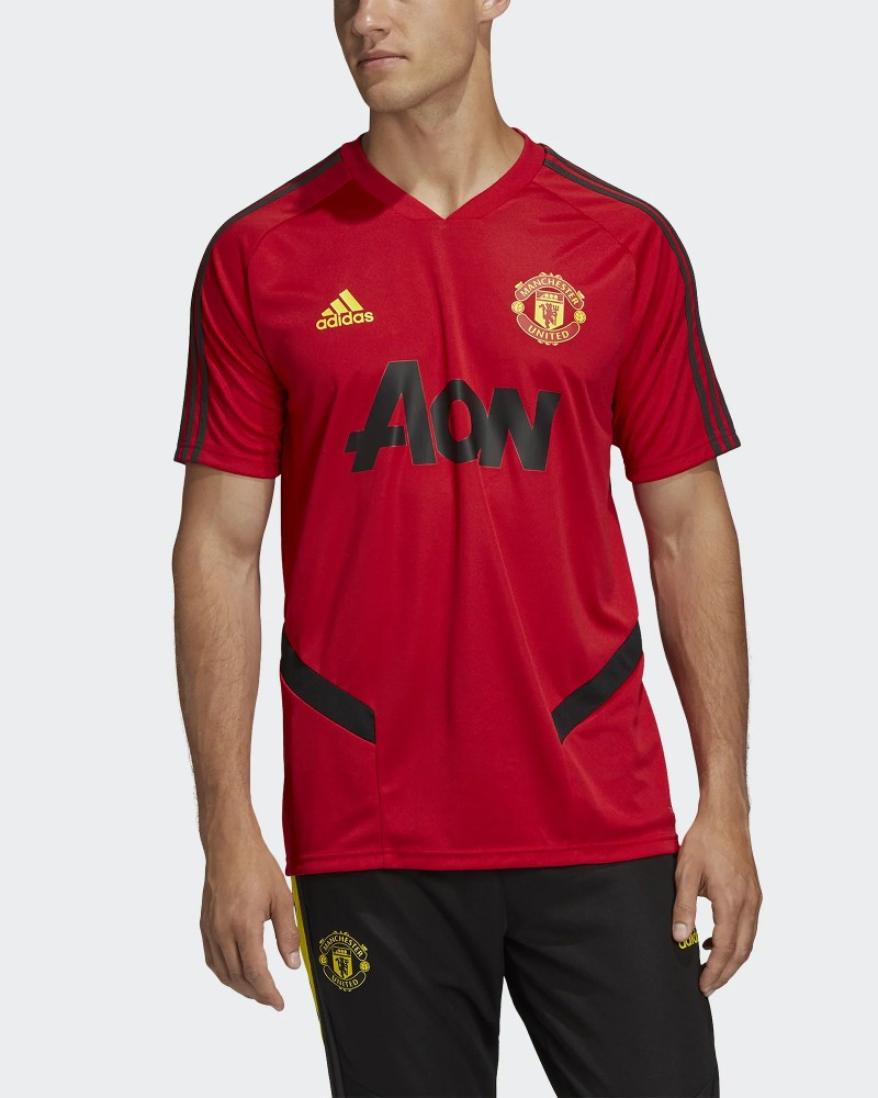 Manchester United Adidas Maglia Allenamento Training Uomo 2020 Rosso 0