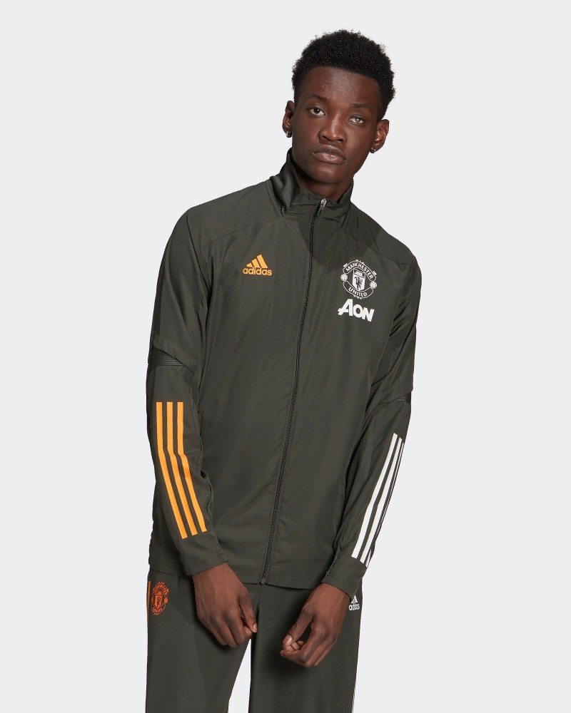 Manchester United Adidas Giacca tuta rappresentanza 2020 21 Presentation UOMO 0