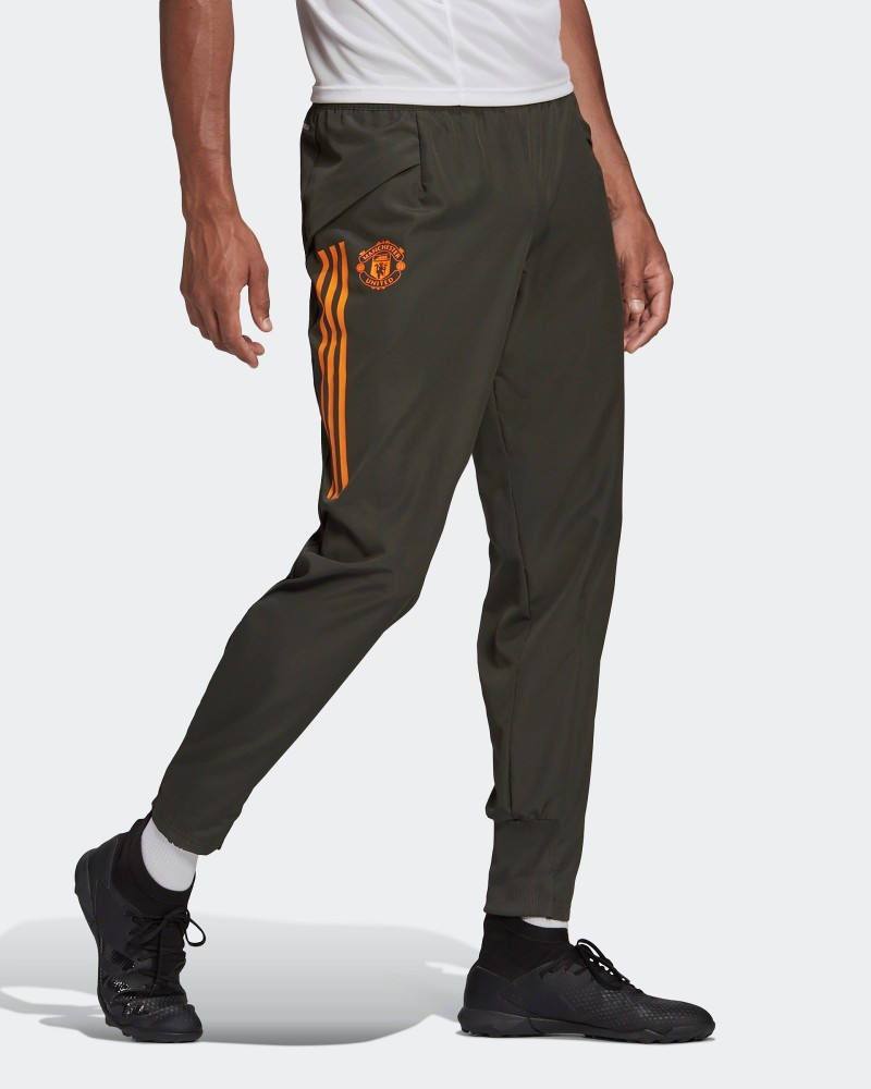 Manchester United Adidas Pantaloni tuta Rappresentanza UOMO Grigio 2020 21 0