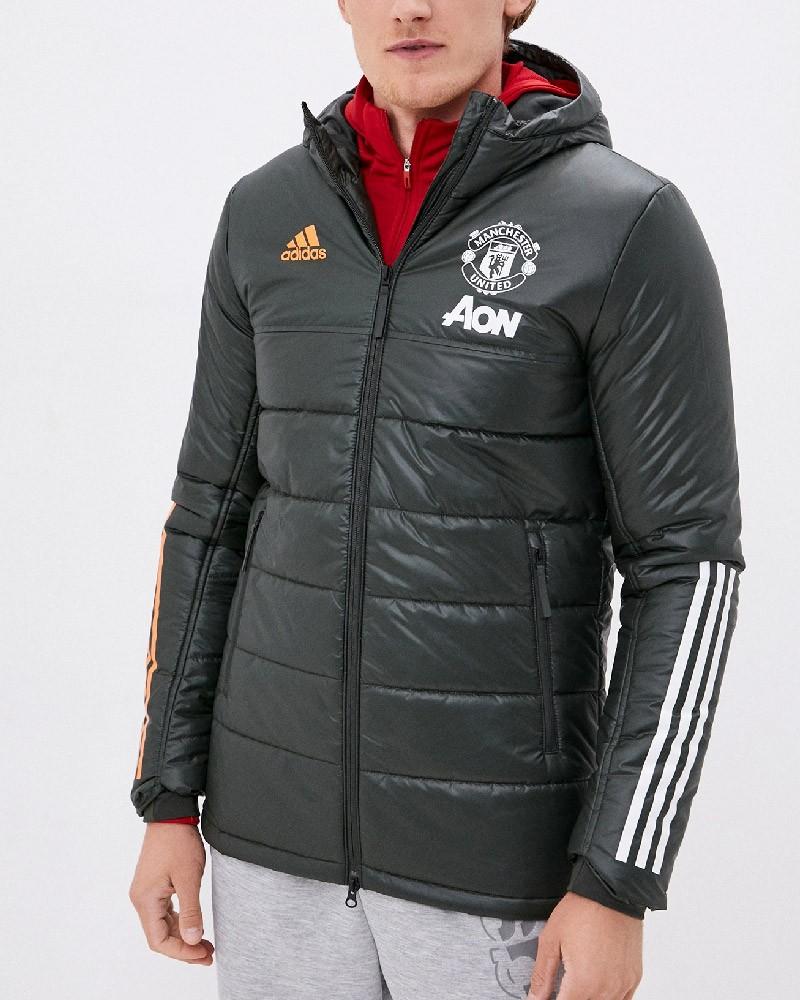 Manchester United Adidas Bomber Piumino Giubbotto UOMO Nero 2020 21 Winter 0