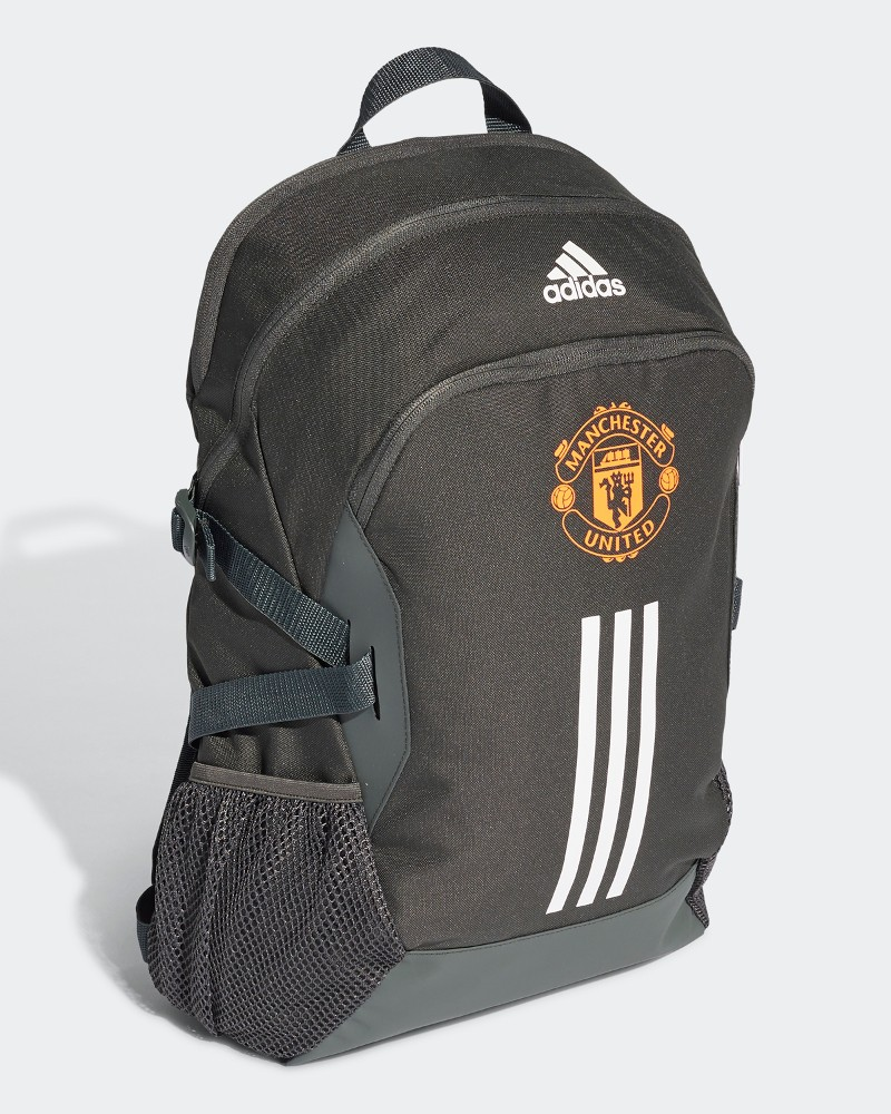 Manchester United Adidas Zaino Bag Backpack Grigio 2020 21 scuola sport viaggi 0