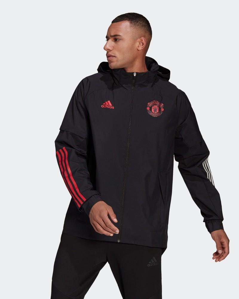 Manchester United Adidas Giacca Calcio Vento pioggia 2021 All weather UOMO 0