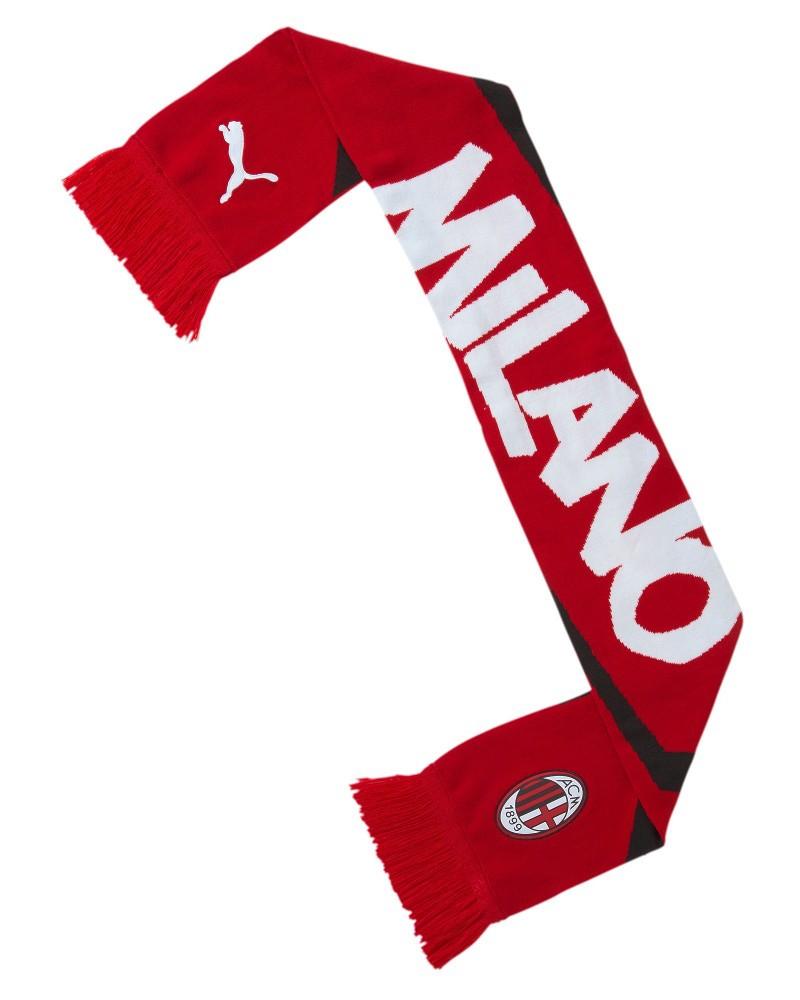 Ac Milan Puma Sciarpa Tifoso Scarf Unisex FTBL CULTURE 2020 21 Rosso 0