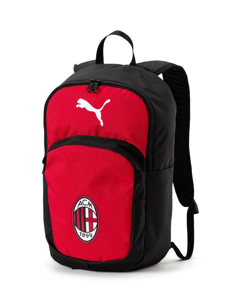 Ac Milan Puma Pro Zaino Bag Backpack Rosso Nero 2020 0