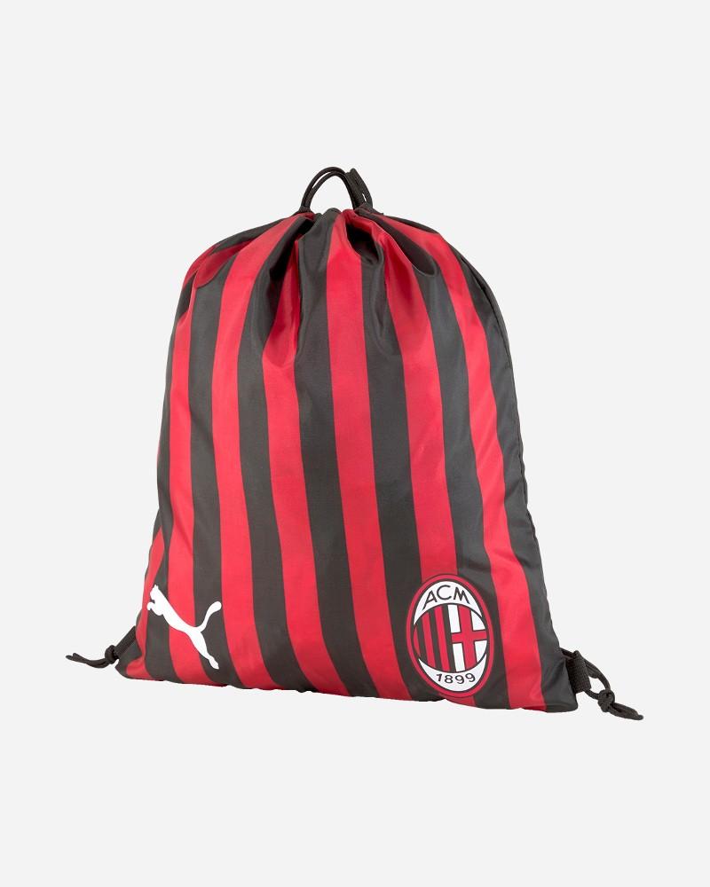 Ac Milan Puma Sacca Rucksack Gymsack Borsa Unisex Rosso Nero 2020 21 0