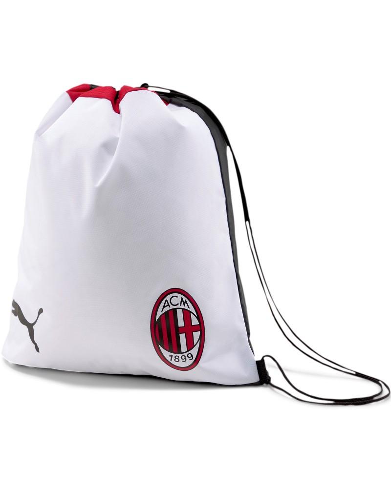 Ac Milan Puma Sacca Rucksack Gymsack Borsa Unisex Bianco 2020 21 Pro Training 0