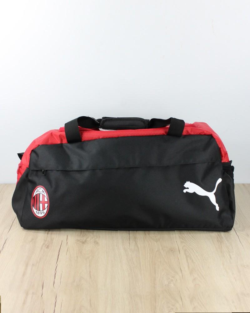 Ac Milan Puma Borsa borsone Team Bag tg Nero Rosso 2020 21 0