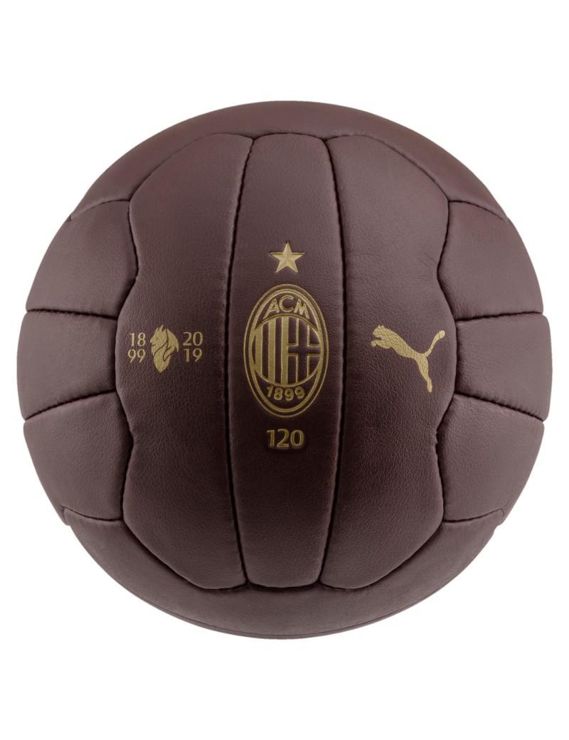 Ac Milan Puma Pallone 120 anniversario Fan Vintage Retro Marrone Collezionismo 0