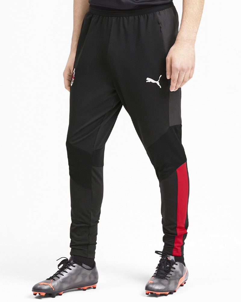 Ac Milan Puma Pantaloni tuta Pants 2019 20 Stadium Training Pro Nero 0