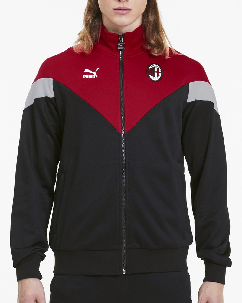 Ac Milan Puma Giacca Tuta sportiva jacket 2020 Iconic MCS Track UOMO Nero 0
