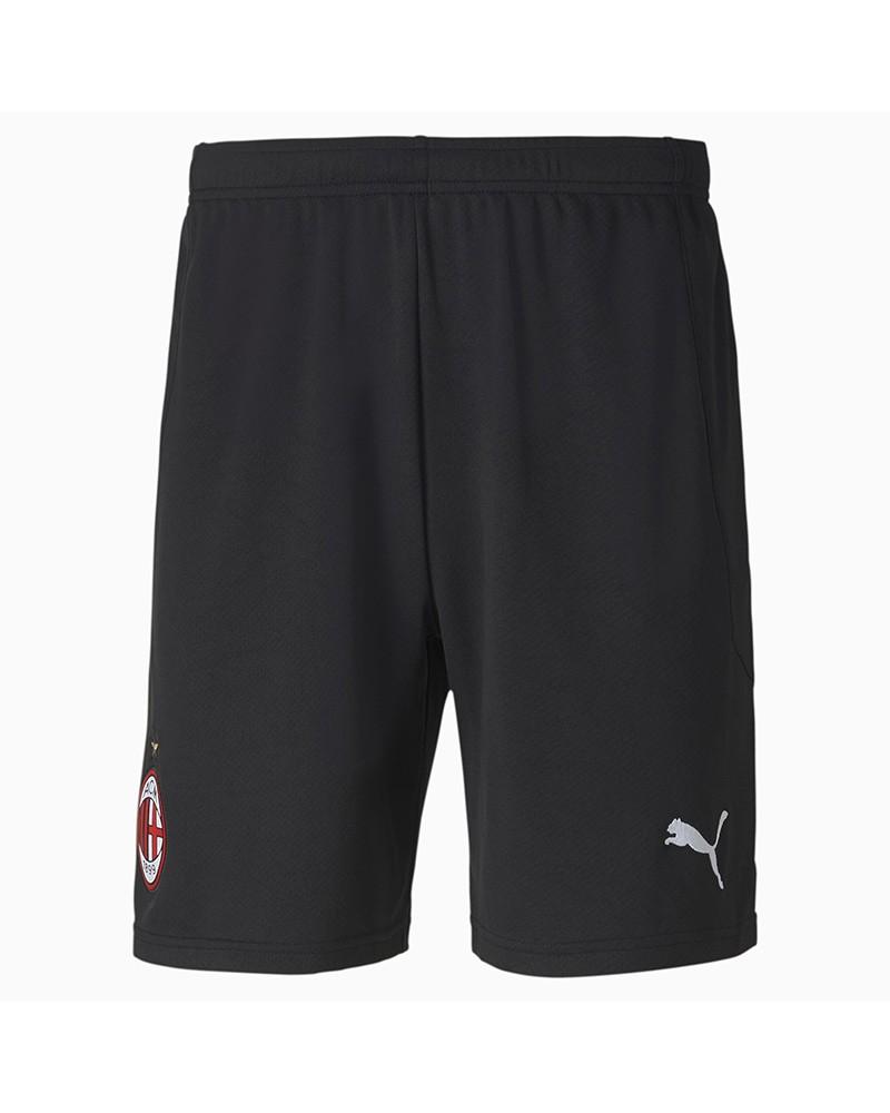 Ac Milan Puma Pantaloncini Shorts UOMO Nero 2020 21 Home Away Match 0