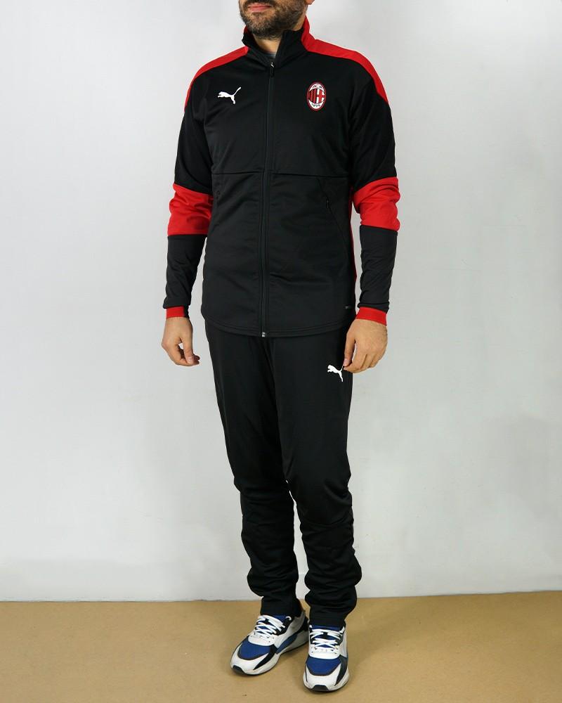 Ac Milan Puma Tuta Intera Allenamento Tracksuit 2020 21 Poly versione Panchina 0