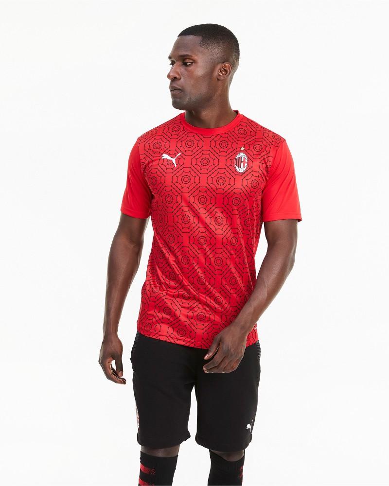 Ac Milan Puma Maglia Allenamento Training Pre match Stadium 2021 DryCell 0