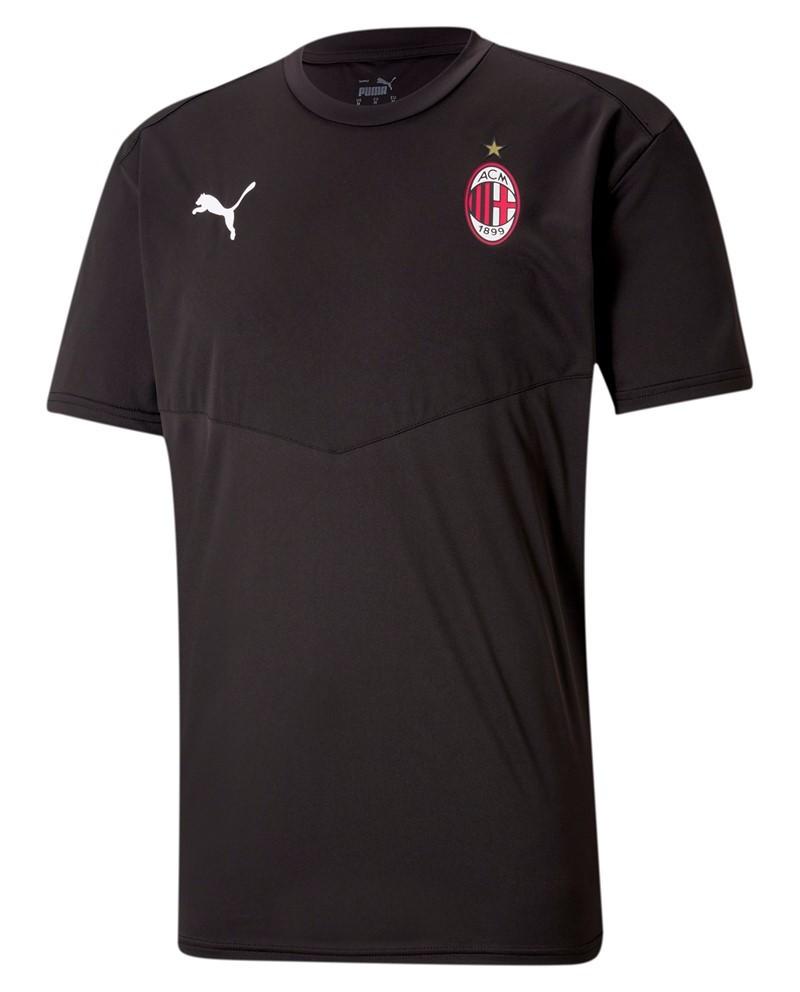 Ac Milan Puma Maglia Allenamento Training Pre match Stadium WARM UP Nero 2021 0