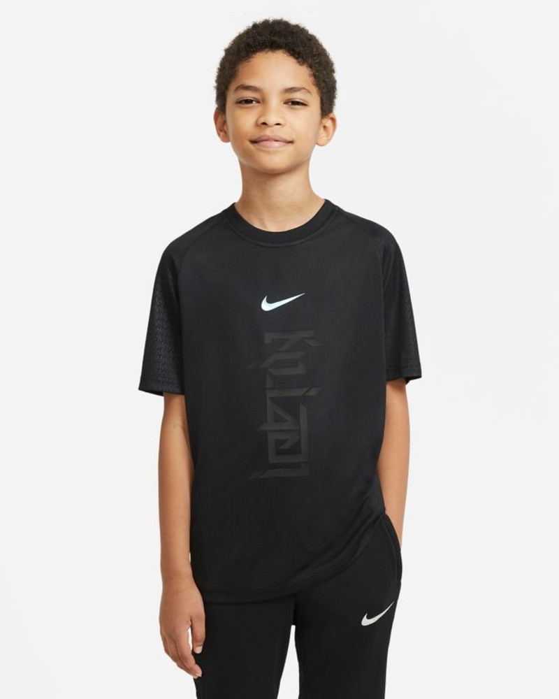 Dry Strike Kylian Mbappè Nike Maglia Allenamento Training Ragazzo Bambino Nero 0